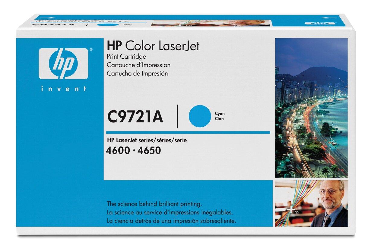 image Заправка картриджа HP C9721A (синий)