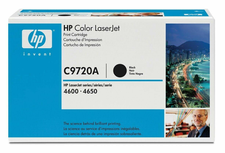 image Заправка картриджа HP C9720A (черный)